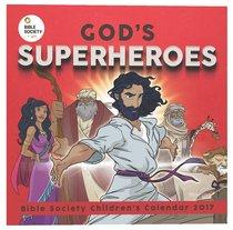 2017 Kids Calendar, Gods Superheroes
