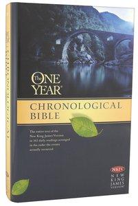 NKJV One Year Chronological Bible (Black Letter Edition)