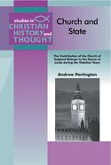 Church and State (Studies In Christian History And Thought Series)