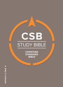 CSB Study Bible Indexed