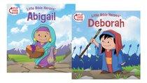 Deborah/Abigail Flip-Over Book (Little Bible Heroes Series)