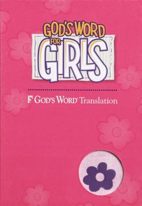 Gods Word For Girls Purple/Pink Duravella