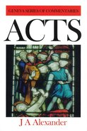 Acts (Geneva Series Of Commentaries)