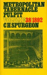 Metropolitan Tabernacle Pulpit #38
