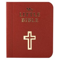 Novelty: My Little Bible Maroon