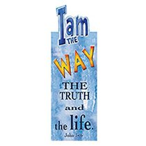 Magnetic Bookmark: I Am the Way, the Truth and the Life