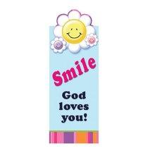 Magnetic Bookmark: Smile, God Loves You!