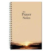 Spiral Notebook: My Prayer Notes Sunset