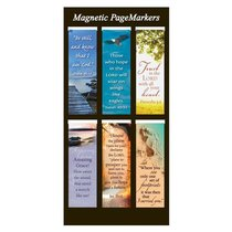 Magnetic Bookmarks Set of 6: Be Still and Know