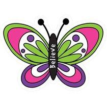 Magnet Laedee Bugg Die-Cut: Butterfly - Believe