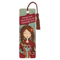 Bookmark With Tassel: Praise God