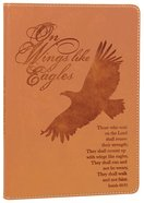 Leather Lux Journal: Eagle, On Wings Like Eagles, Isaiah 40:31