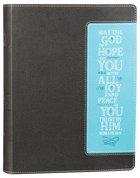 NIV Beautiful Word Bible Brown/Turquoise