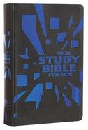 NKJV Study Bible For Kids Grey/Blue Cover