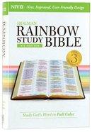 NIV Rainbow Study Bible (Black Letter Edition)