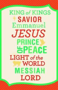 Christmas Premium Boxed Cards: King of Kings (Philippians 2:9 Kjv)