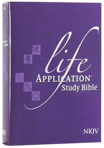 NKJV Life Application Bible (Red Letter Edition)