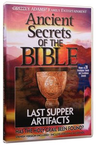 Ancient Secrets 3 #04: Last Supper Artifacts (#04 in Ancient Secrets Of The Bible Dvd Series)