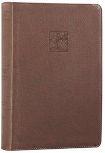 NIV Gods Justice Holy Bible Brown (Black Letter Edition)