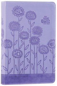 NIRV Kids Quest Study Bible Lavender (Black Letter Edition)