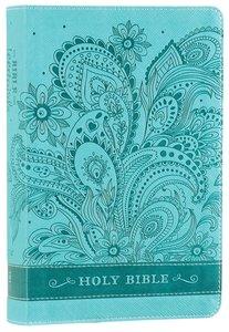 NIV Bible For Teen Girls Aqua Butterfly
