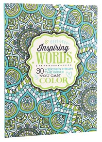 Inspiring Words (Adult Coloring Books Series)