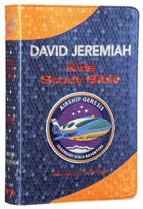 NKJV Airship Genesis Kids Study Bible Navy