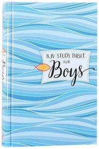 KJV Study Bible For Boys Granite/Copper (Red Letter Edition)