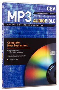 CEV New Testament on Audio CD (Mp3 - 1 Disc)