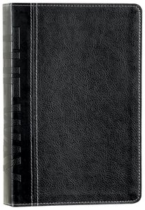 NLT the Way Bible Leatherlike Deluxe (Black Letter Edition)