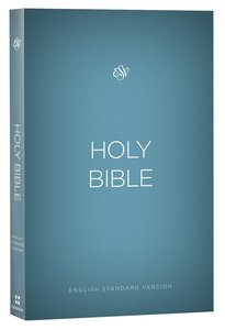 ESV Outreach Bible Blue (Black Letter Edition)