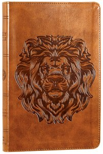 ESV Thinline Bible Trutone Royal Lion Red Letter Edition