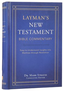 Laymans New Testament Bible Commentary