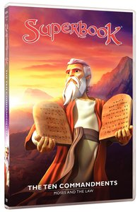 Ten Commandments, the - Moses and the Law (#07 in Superbook Dvd Series Season 01)