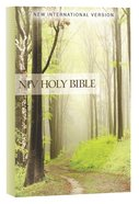 NIV Value Outreach Bible Green Forest Path
