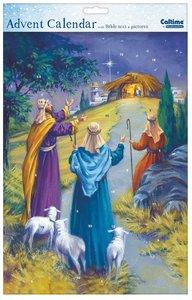 Advent Calendar: Shepherds With Bible Text