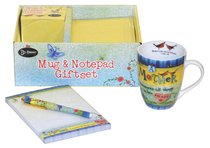 Gift Set: Mug, Notepad & Pen: A Mother Treasures All Things in Her Heart