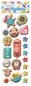 Puffy Stickers: Encouragement Series: (1 Sheet Per Pack)