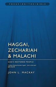 Fotb: Haggai, Zechariah and Malachi
