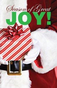 Season of Great Joy! NIV (Pack Of 25)