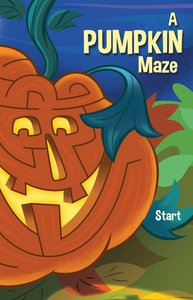 A Pumpkin Maze (Pack Of 25)