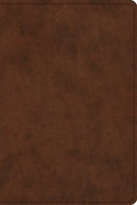 ESV Study Bible Personal Size Brown Trutone (Black Letter Edition)