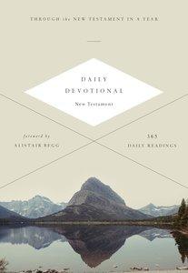 ESV Daily Devotional New Testament (Black Letter Edition)