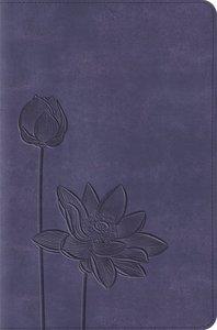ESV Compact Bible Trutone Lavender Bloom (Black Letter Edition)
