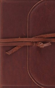 ESV Thinline Bible Flap With Strap Red Letter Edition