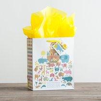 Gift Bag Medium: Noahs Ark (Incl Tissue Paper & Gift Tag)