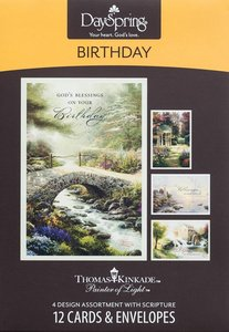 Boxed Cards Birthday: Thomas Kinkade - Painter of Light