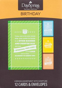 Boxed Cards Birthday: Special Expression
