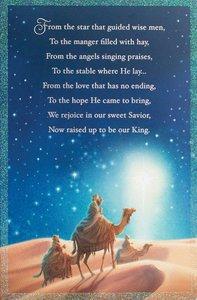 Christmas Premium Boxed Cards: Three Wise Men (Luke 1:47 Niv)