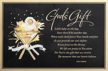 Christmas Premium Boxed Cards: Gods Gift (2 Cor 9:15 The Message)